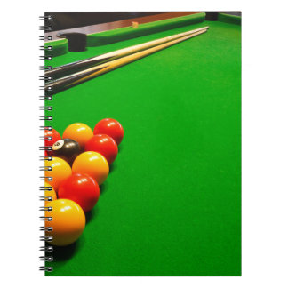 Carnet Miscellaneous - Pool Table Patterns Five