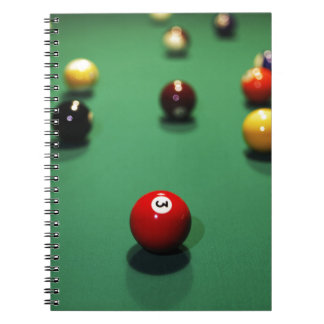 Carnet Miscellaneous - Pool Table Patterns Nine