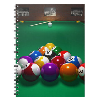 Carnet Miscellaneous - Pool Table Patterns One