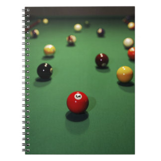 Carnet Miscellaneous - Pool Table Patterns Seven