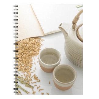 Carnet Miscellaneous - Rice Tea Patterns Four