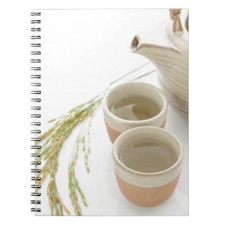 Carnet Miscellaneous - Rice Tea Patterns Nine