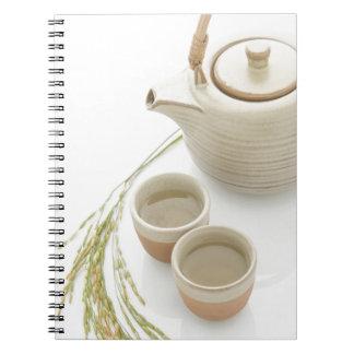 Carnet Miscellaneous - Rice Tea Patterns One