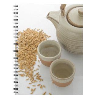 Carnet Miscellaneous - Rice Tea Patterns Three