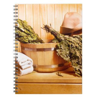 Carnet Miscellaneous - Sauna Objects Patterns Eight