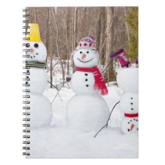 Carnet Miscellaneous - Snowman Patterns Two