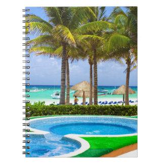 Carnet Miscellaneous - Tropical Beach & Palm Trees One