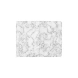 Carnet Moleskine De Poche Arrière - plan en pierre marbré de marbre de blanc