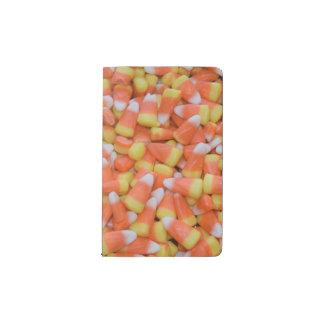 Carnet Moleskine De Poche Automne de bonbons au maïs à Halloween ou à