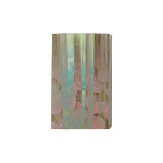 Carnet Moleskine De Poche Collage d'Oxalis et d'arbres   Seabeck, WA