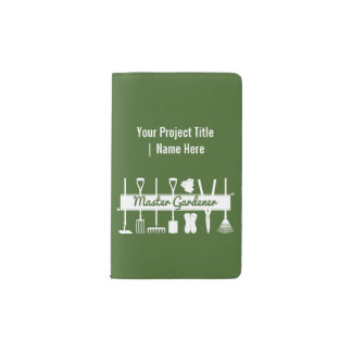 Carnet Moleskine De Poche Coutume moderne simple de Forest Green de