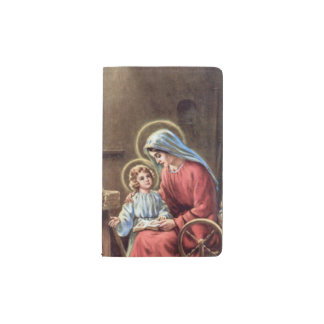 Carnet Moleskine De Poche cru la famille sainte, Jésus-Christ, Josef, Mary,