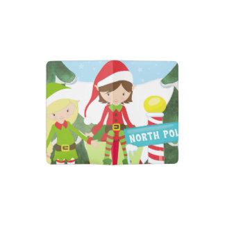 Carnet Moleskine De Poche Deux elfes au Pôle Nord