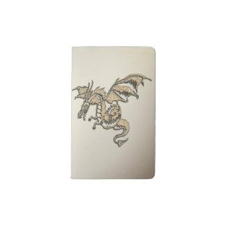 Carnet Moleskine De Poche Dragon d'or