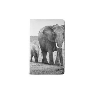 Carnet Moleskine De Poche Éléphant africain et veaux | Kenya, Afrique