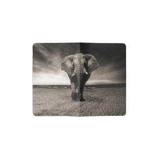 Carnet Moleskine De Poche Éléphant sur la course