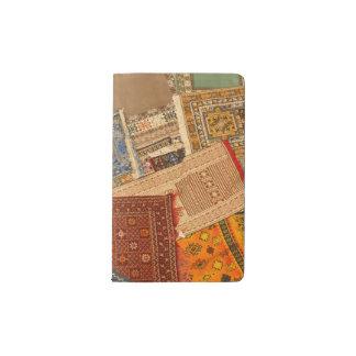 Carnet Moleskine De Poche Fin de collage de tapis