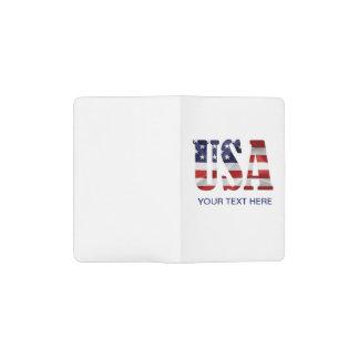 Carnet Moleskine De Poche Les Etats-Unis patriotiques