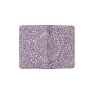 Carnet Moleskine De Poche Mandala pourpre en pastel