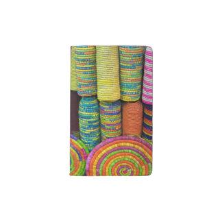 Carnet Moleskine De Poche Paniers colorés au marché