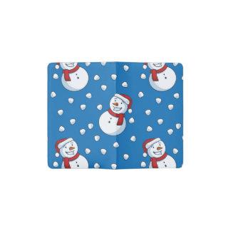 Carnet Moleskine De Poche Petits bonhommes de neige heureux