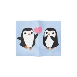 Carnet Moleskine De Poche Pingouins dans l'amour