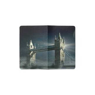 Carnet Moleskine De Poche Pont Londres de tour en brouillard de nuit