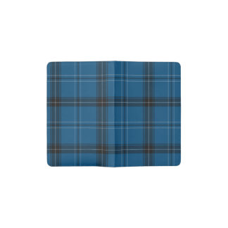 Carnet Moleskine De Poche Tartan de bleu de Ramsay d'écossais