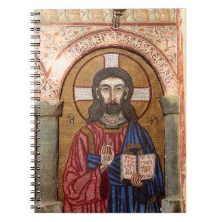 Carnet Mosaïque antique de Jésus
