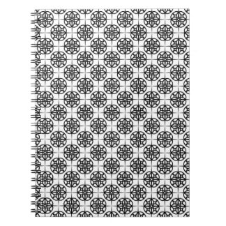 Carnet Motif géométrique de rétro Vibe chic