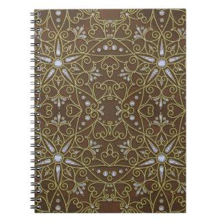 Carnet motif majestueux D