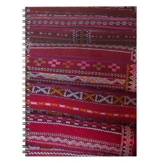 Carnet Motifs de coussin de textile