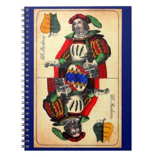 Carnet No. du 19ème siècle 1 de carte de tarot