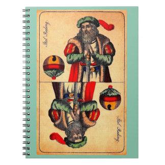 Carnet No. du 19ème siècle 2 de carte de tarot