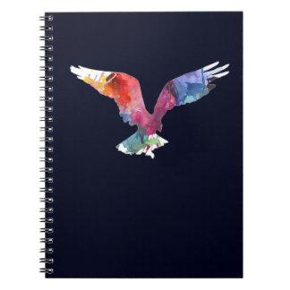 Carnet Oiseau d'animal d'esprit d'Eagle. Totem. Art