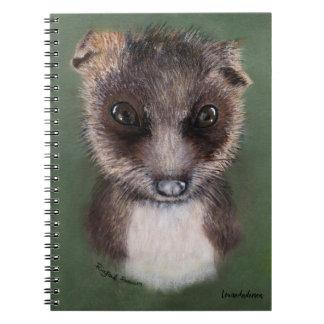 Carnet Opossum coupé la queue par anneau