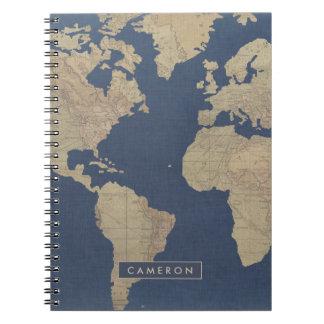 Carnet Or et carte bleue du monde