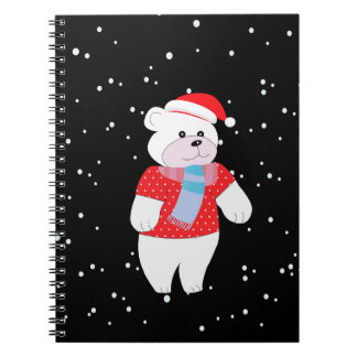 Carnet ours blanc