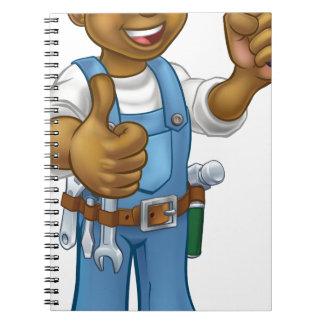 Carnet Outil de truelle de travailleur de la construction