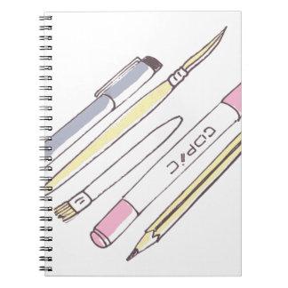 Carnet Outils de dessin
