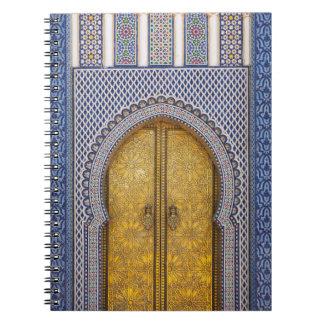 Carnet Palace Ornate Doors des Rois