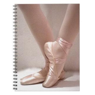 Carnet Pantoufles roses de ballet