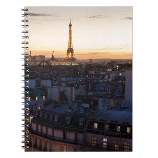Carnet Paris by night