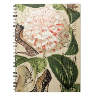 Carnet Paris chausse l'art botanique français floral