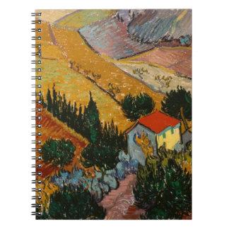 Carnet Paysage de Vincent van Gogh | avec la Chambre et
