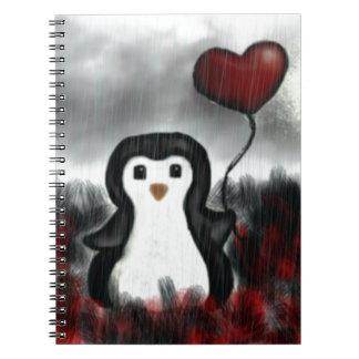 Carnet Penguin_by_mirvin