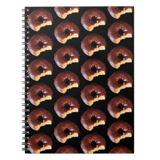 Carnet Photo de beignet givrée par chocolat de gâteau