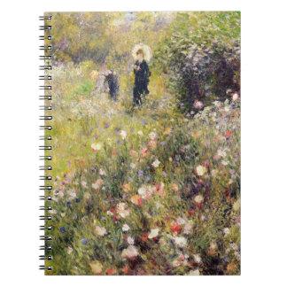 Carnet Pierre un paysage d'été de Renoir |