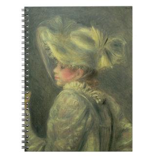 Carnet Pierre un Renoir | le casquette blanc