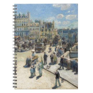 Carnet Pierre un Renoir | Pont Neuf, Paris